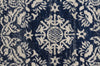 Gwyneth Stunning Transitional Navy Round Rug
