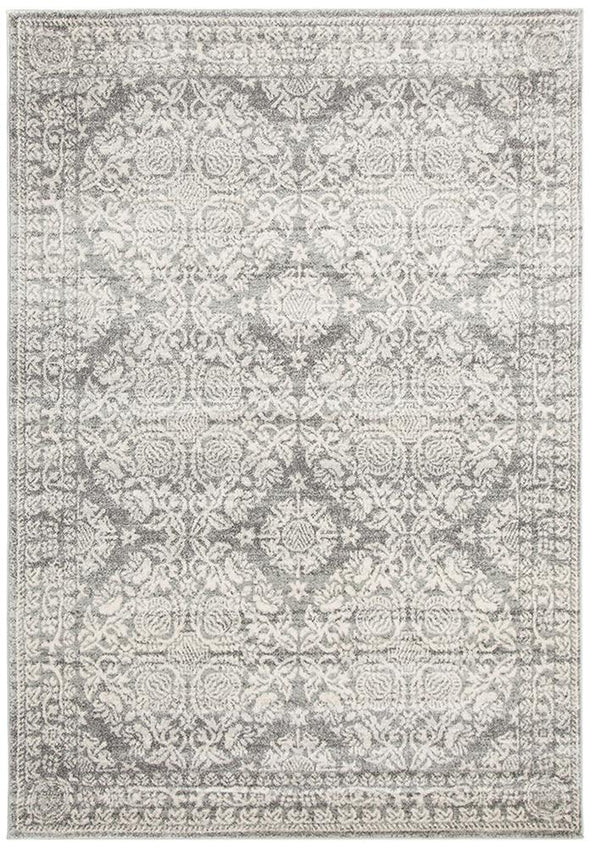 Gwyneth Stunning Transitional Silver Rug