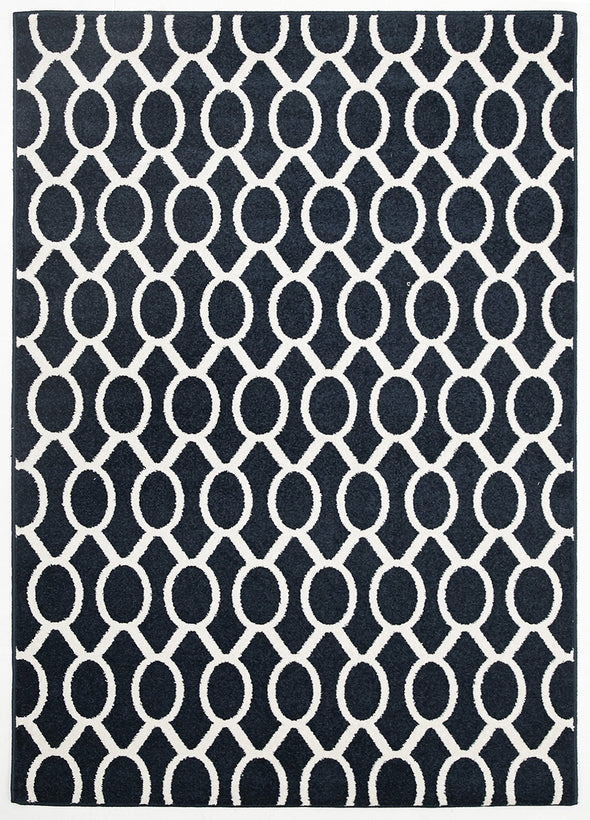 Indoor Outdoor Neo Rug Navy