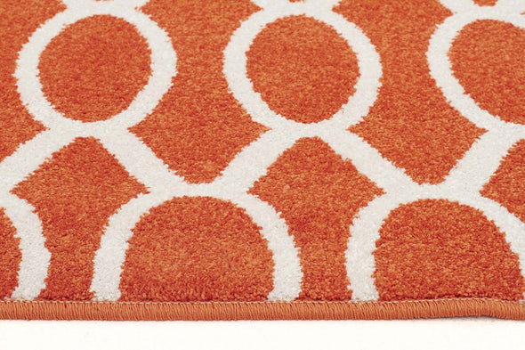 Indoor Outdoor Neo Rug Rust