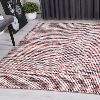 Scandi Multi Reversible Wool Rug