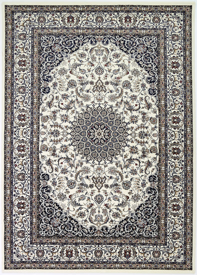 Dynasty Medallion Cream Rug