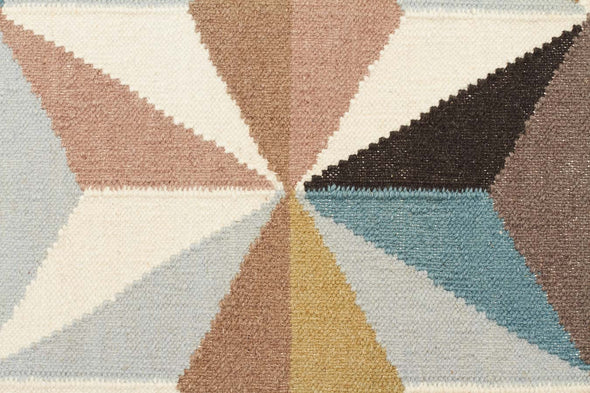 Dimensions Flat Weave Rug Blue