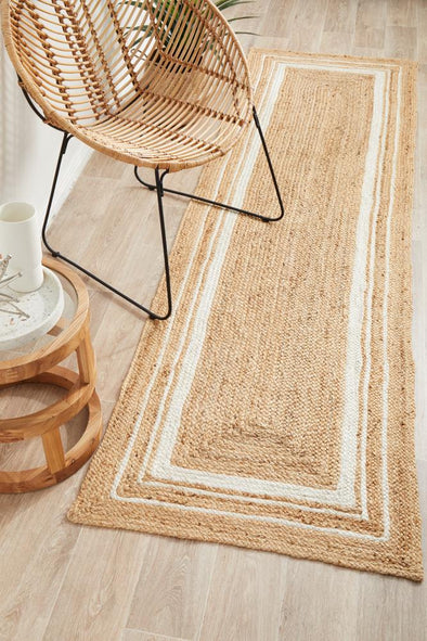 Byron 111 Natural Runner Rug
