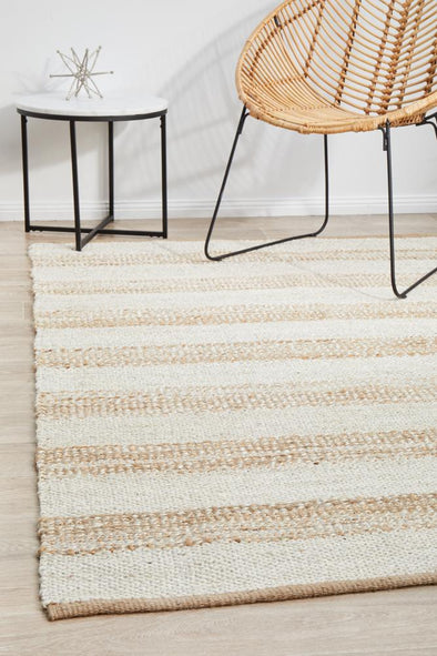 Byron 555 Natural White Rug