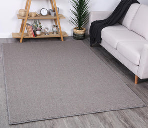 Cambridge Solid Charcoal Wool Rug