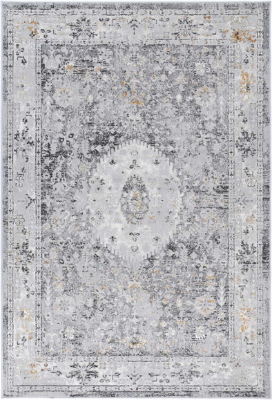 Almada Traditional Grey Rug