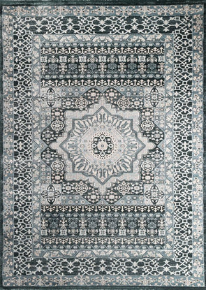 Oregon Navy Blue Oriental Rug
