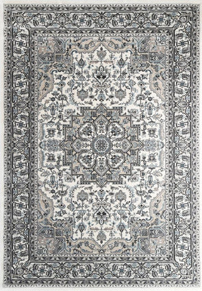 Oregon Grey Beige Oriental Rug