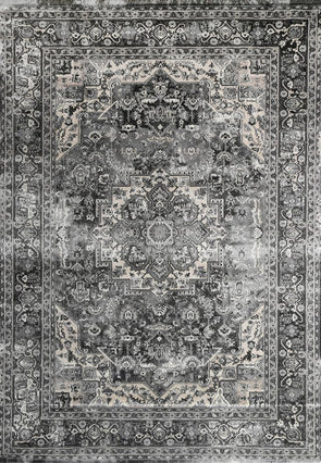 Oregon Grey Oriental Rug