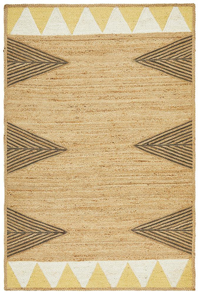 Array Jute Yellow Rug