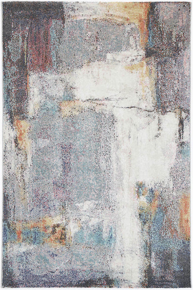 Aveza Abstract Grey Rug