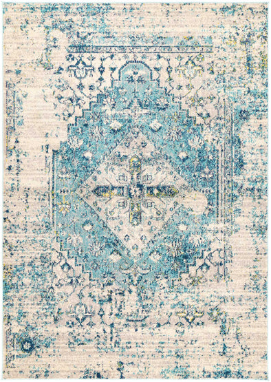 Asli Blue Transitional Rug
