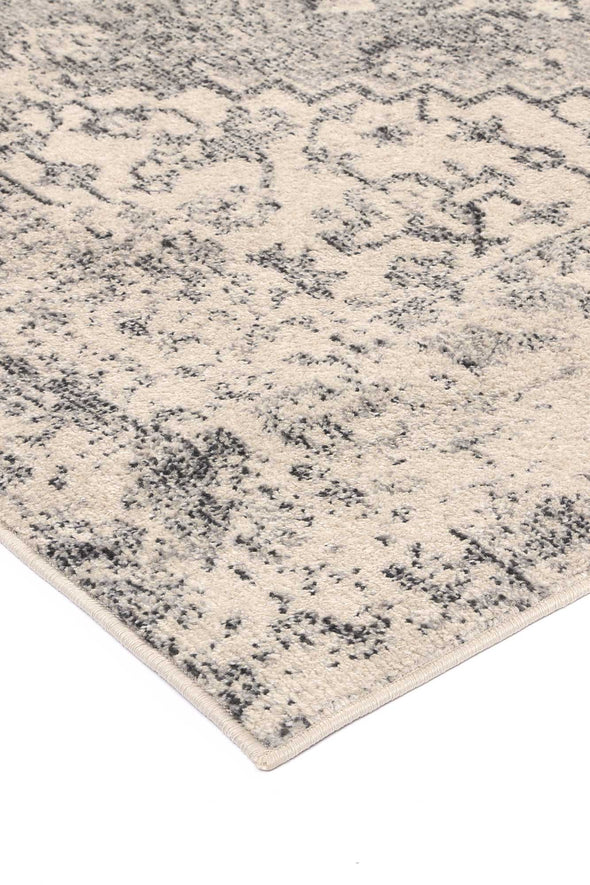 Micah Grey Transitional Rug