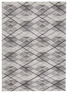 Winter Grey Gravel Modern Rug