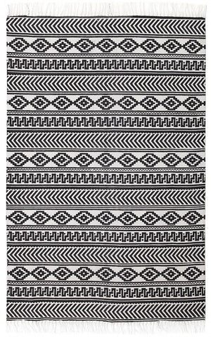 Totemic Rally White Rug