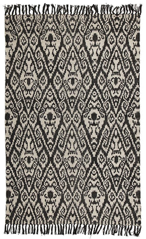 Totemic Convene Black Rug