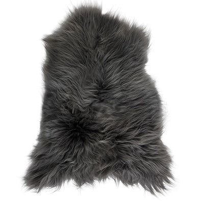 Icelandic Sheepskin Rug - Dyed Grey
