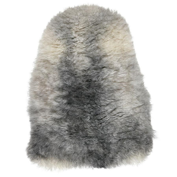 Icelandic Shorn Sheepskin Rug - Natural Grey