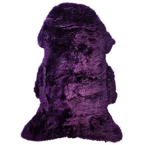 Sheepskin Rug Merino - Royal Purple