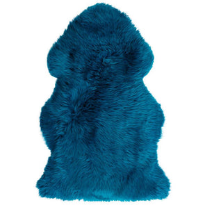 Sheepskin Rug Merino - Teal