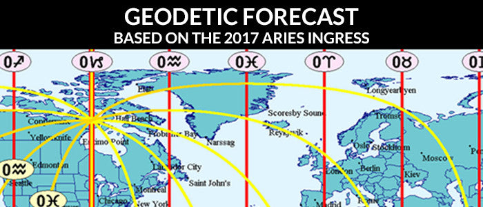 Geodetic Forecast based on the 2017 Aries Ingress (PDF + MP3 + MP4 video)