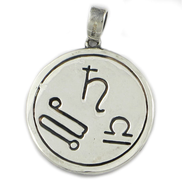 Saturn in Libra Metal Talisman