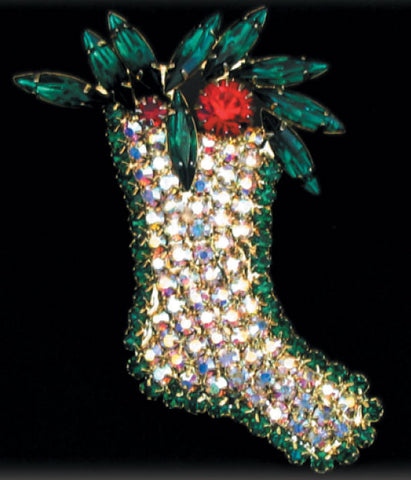 Crystal Stocking Pin