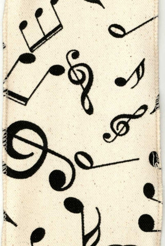 Music Notes Canvas