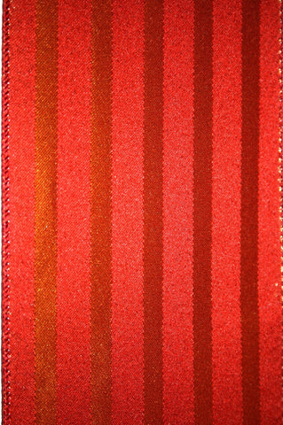 Jacquard Gold & Red