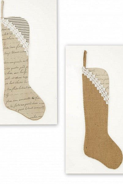 French Christmas Stockings
