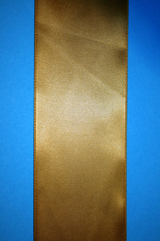 Dbl. Face Gold Satin