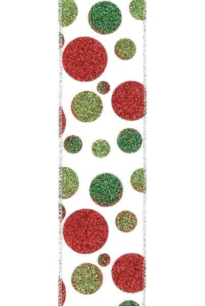 Christmas Polka Dot Ribbon