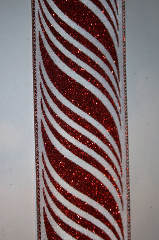 Glitter Candy Stripe