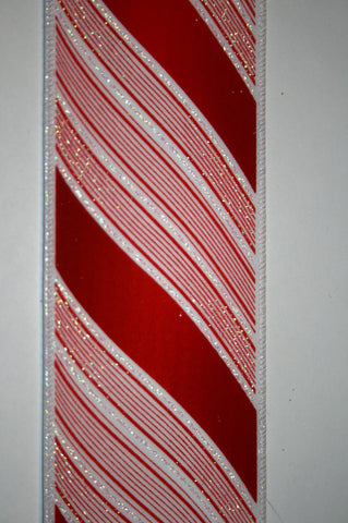 Flocked Candy Stripes