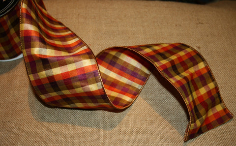 b Autumn Dupioni Ribbon