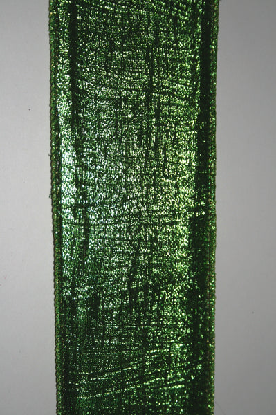 Metallic Green Pleated Sm.