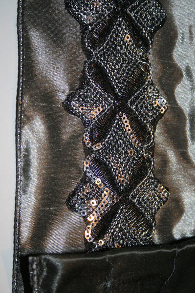 Silver w/Sequin Adornment