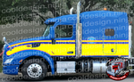 Classic Seminole T579 Kenworth Stripe