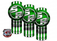 5R Green Kenworth Emblem Skin Kit