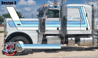 379/389 Chicago Peterbilt Stripe Kit
