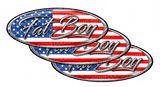 Fat Boy Peterbilt Emblem Skins