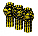 Black Gold Kenworth Emblem Skin Kit