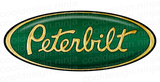 3M Peterbilt Emblem Skins x 3 in Gold