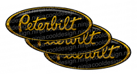 JD Black Peterbilt Emblem Skins