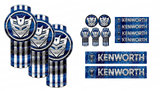 Blue Transformed Kenworth Emblem Skins