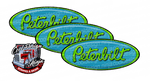 Bright Green Blue Peterbilt Emblem Skins