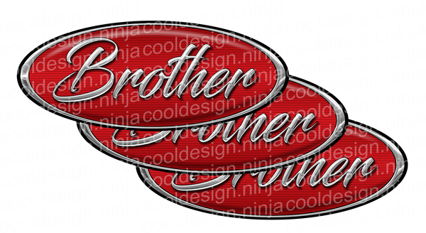 Brother Peterbilt Emblem Skins