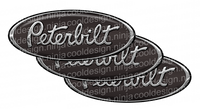 Brown Peterbilt Emblem Skins