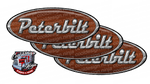 Brown Shotgun Peterbilt Emblem Skins